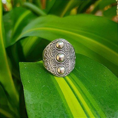 Anel Bali em Prata 925