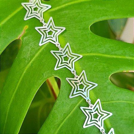 Pulseira Estrelas em Prata 925