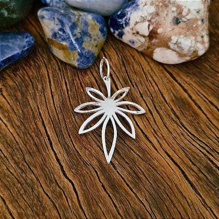 Pingente Flor em Prata 925