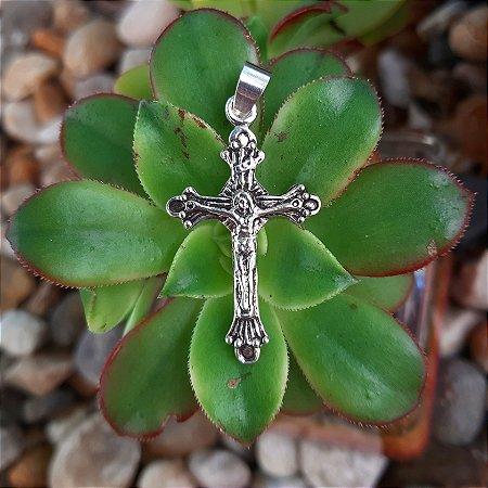 Pingente Crucifixo em Prata 925