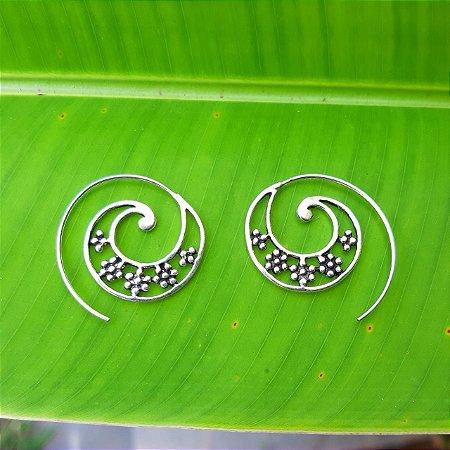Brinco Bali em Prata 925