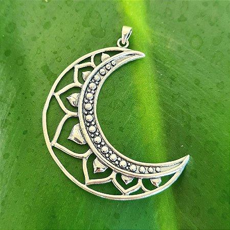 Pingente Lua em Prata 925