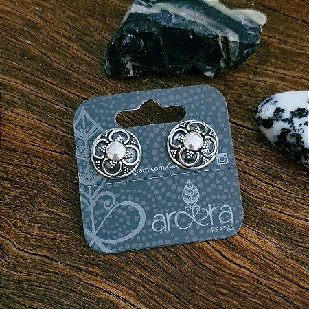 Brinco Bali Pequeno em Prata 925
