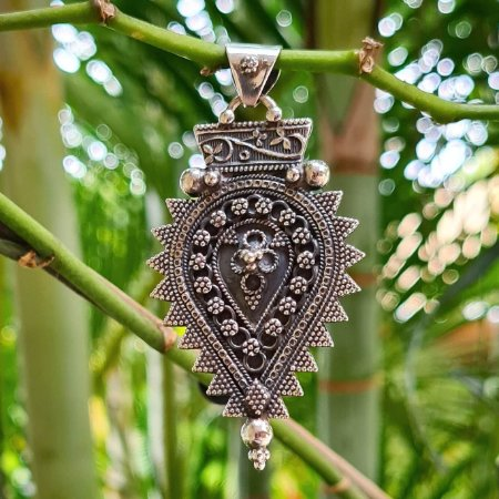 Pingente Bali em Prata 925