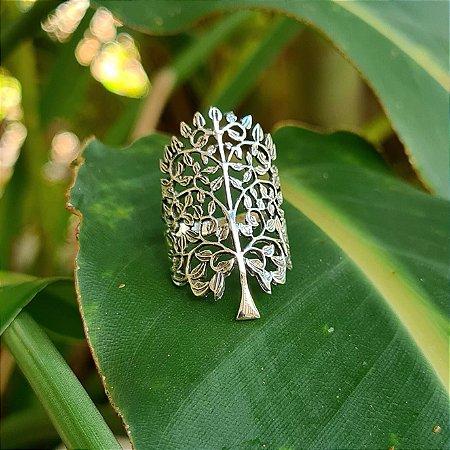 Anel Árvore da Vida em Prata 925