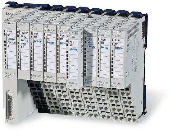 CLP - CONTROLADOR LÓGICO PROGRAMAVEL  LENZE - CÓDIGO EPM-S302.2A - 24VDC