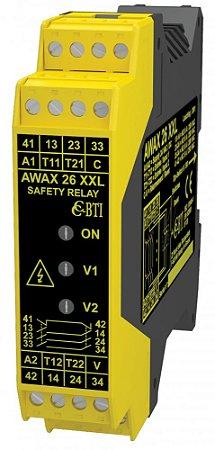 RELE DE SEGURANÇA AWAX26XXLT6 - SAFETY MODULES / SAFETY RELAIS