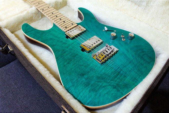 Guitarra SGT M1 Standard Aqua Green - PRONTA ENTREGA