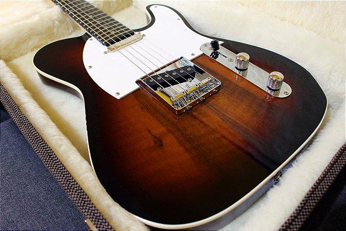 Guitarra SGT TC Classic Natural Burst Black - PRONTA ENTREGA