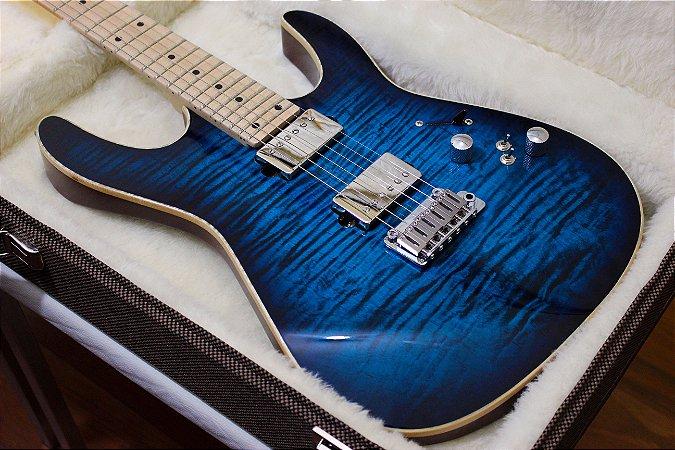 Guitarra SGT M1 Standard Aqua Blue - PRONTA ENTREGA
