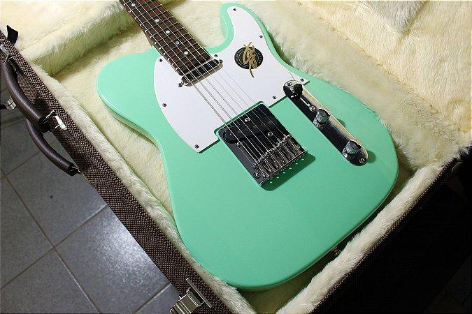 Guitarra SGT TC Classic Surf Green - PRONTA ENTREGA