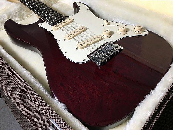 Guitarra SGT ST Start Translucid Wine Red - PRONTA ENTREGA