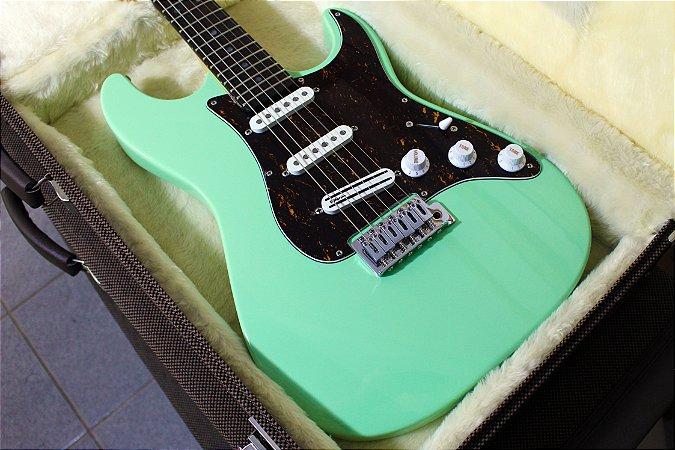 Guitarra SGT ST Modern Surf Green - PRONTA ENTREGA