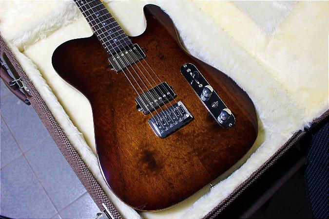 Guitarra SGT TC Standard 2HB Natural Imbuia - PRONTA ENTREGA