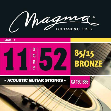 Encordoamento Violão Bronze 85/15 .011 Magma Ga130b85