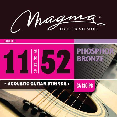 Encordoamento Violão Phosphor Bronze .011 Magma Ga130pb