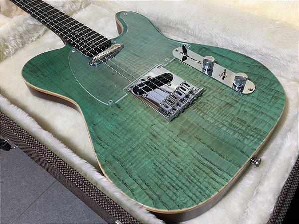 Guitarra SGT TC Standard Translucid Green - PRONTA ENTREGA