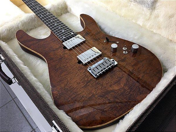 Guitarra SGT M1 Standard Natural Imbuia - PRONTA ENTREGA