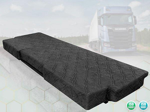 Cama para Caminhão Scania Luxo com duas extensões | Séries P, G e R