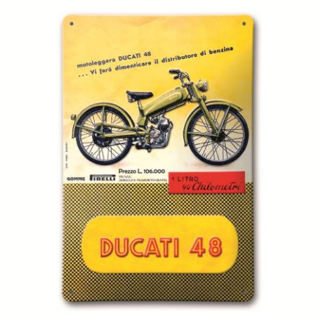 Placa Ducati 48