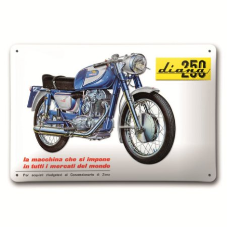 Placa Ducati Diana 250