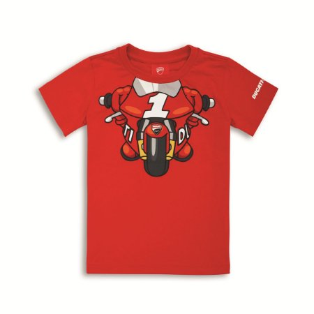 Camiseta Ducati Little Rider Kids