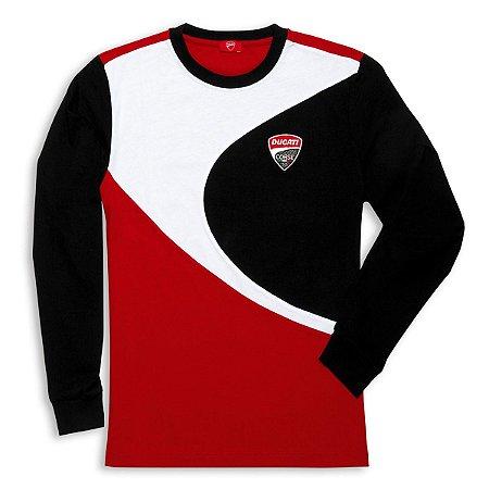 Camiseta Ducati Corse Manga Longa