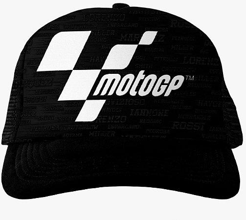Boné MotoGP Racing Preto