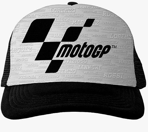 Boné MotoGP Racing Branco
