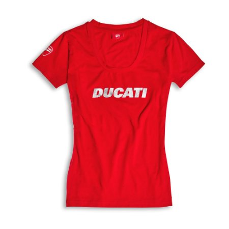 Camiseta Ducatiana Vermelha - Feminina