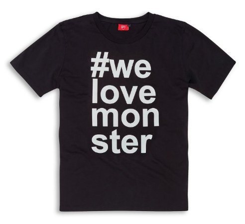 Camiseta Modelo #MONSTER