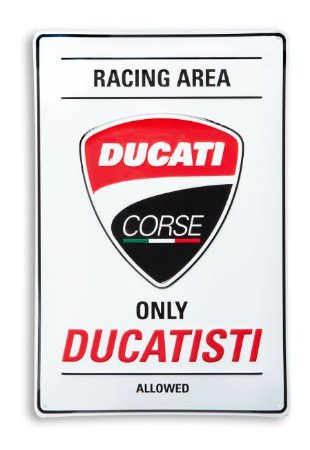 Emblema de Metal - Ducati Racing Area