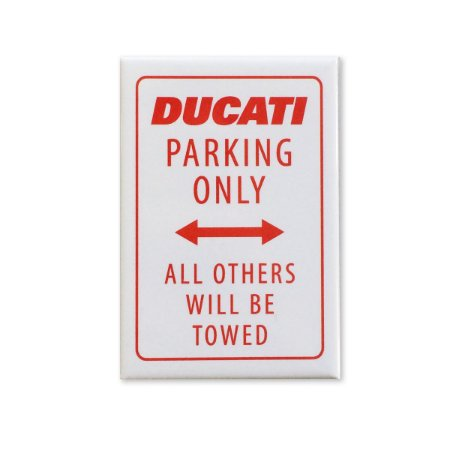 Imã - Ducati Parking Only