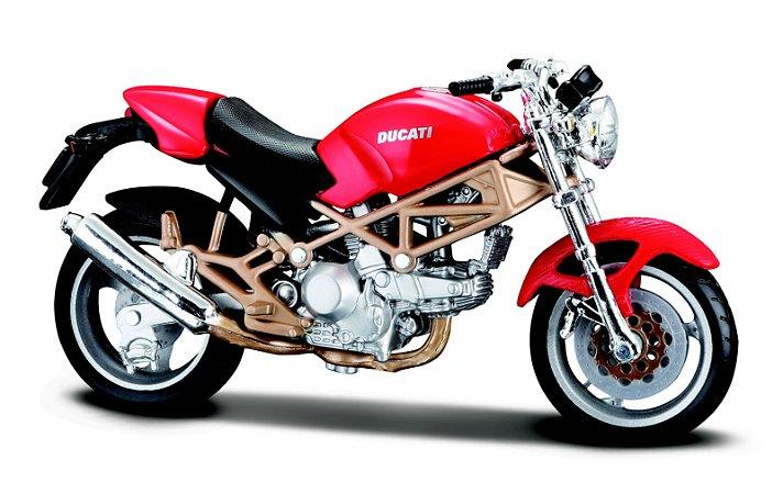 Miniatura Burago - Ducati Monster 900 - 1:18