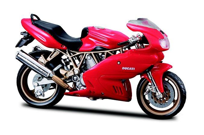 Miniatura Burago - Ducati SuperSport 900 - 1:18