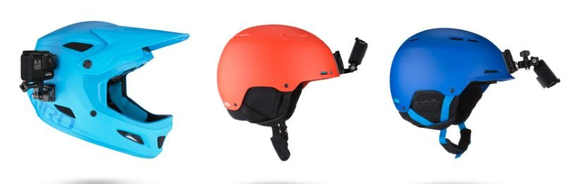 GoPro Suporte frontal e lateral para capacete