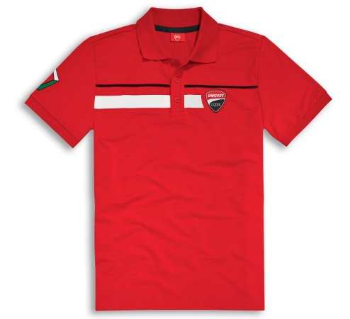Camisa Polo Ducati Corse 17 Red