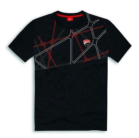 T-shirt Ducati Corse 19 Graphic - Black