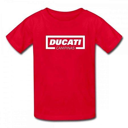 Camiseta Ducati Campinas Vermelha
