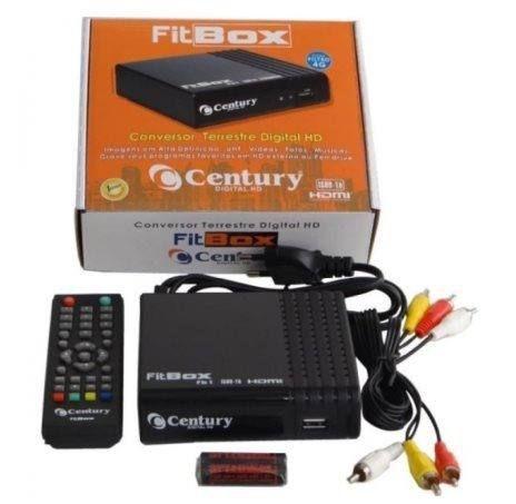 Conversor e Gravador Fitbox Century