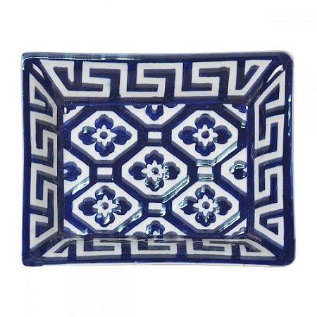 Prato Decorativo Azul Marinho