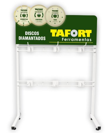 Expositor de Discos Diamantados Balcão - TAFORT