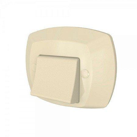 Acabamento Para Válvula Docol  - Abs Bege - MIX PLASTIC