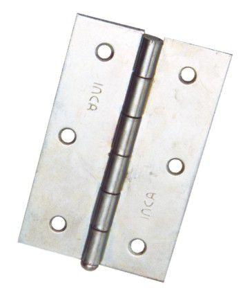 Dobradiça Aço Zincada 2.1/2 CX C/24 Unid - INCA
