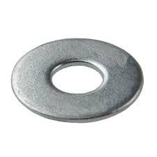 Arruela Lisa Zincada 3/16  Ref.1073 1kg (+ ou - 654 peças) - TORALF