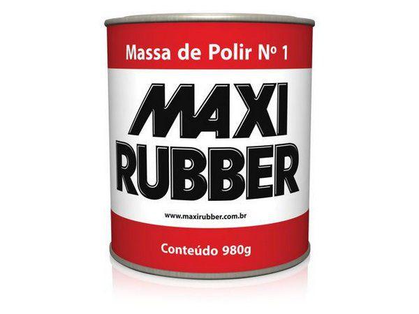 Massa de Polir Nº1 980 Gr  - MAXI RUBBER