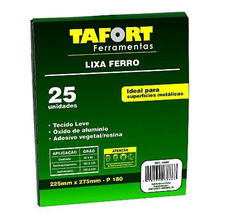 Lixa Ferro Gr 180 (25Pcs) - TAFORT