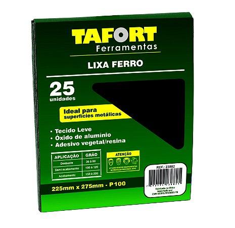 Lixa Ferro Gr 100 (25Pcs) - TAFORT