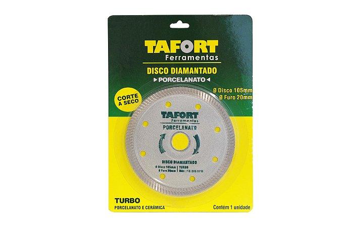 Disco Diamantado Porcelanato 105mm x 20mm - TAFORT