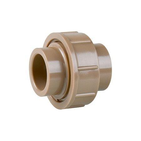União Soldável 50mm Pct/10 - PLASTUBOS